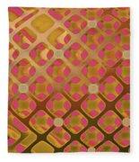 Metal Tartan  Fleece Blanket