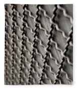 Metal Texture Forms Fleece Blanket