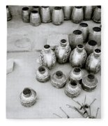 The Craftsman In Jodhpur Fleece Blanket