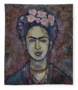 Metamorphosis Frida Fleece Blanket