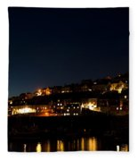 Mevagissy Nights Fleece Blanket