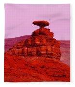 Mexican Hat  Fleece Blanket