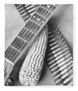 Mexican Revolution, Guitar, Corn Fleece Blanket