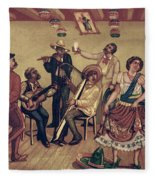 Mexico: Hat Dance Fleece Blanket