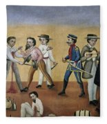 Mexico Satire, C1850 Fleece Blanket