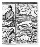 Mexico: Smallpox Epidemic Fleece Blanket