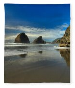 Meyers Creek Beach Fleece Blanket
