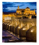 Mezquita Cathedral In Cordoba Fleece Blanket