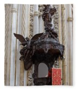 Mezquita Cathedral Pulpit In Cordoba Fleece Blanket