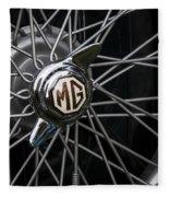 Mg Wheel Fleece Blanket