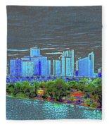 Miami Color Fleece Blanket