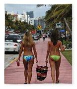 Miami Vice Fleece Blanket