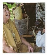Miccosukee Indian Tribe Fleece Blanket