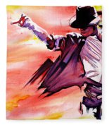 Michael Jackson-billie Jean Fleece Blanket