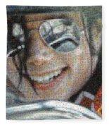 Michael Jackson - Mosaic Fleece Blanket