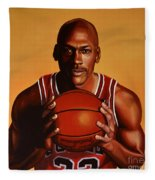 Michael Jordan 2 Fleece Blanket