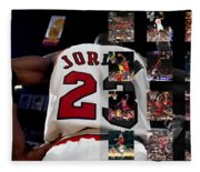 Michael Jordan Fleece Blanket