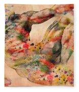Michelangelo  Fleece Blanket