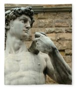 Michelangelo's David 1 Fleece Blanket