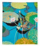 Michelles Secret Pond Fleece Blanket