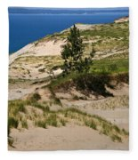 Michigan Sleeping Bear Dunes Fleece Blanket