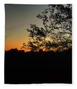 Michigan Sunrise 01 Fleece Blanket