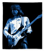 Mick Plays The Blues 1977 Fleece Blanket
