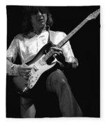 Mick Rocks 1977 Fleece Blanket
