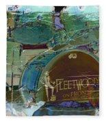 Mick's Drums Fleece Blanket