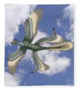 Microraptor Fleece Blanket