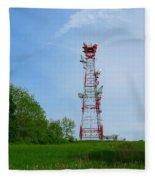 Microwave Tower Fleece Blanket