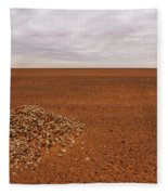 Middle Of Nowhere Fleece Blanket