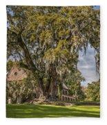 Historic Middleton Place  Fleece Blanket