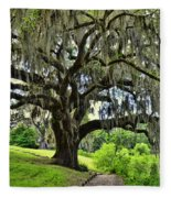 Middleton Place Oak  Fleece Blanket