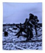 Midnight Battle Stay Close Fleece Blanket