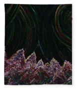 Midnight Forest By Jrr Fleece Blanket