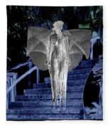 Midnight Garden Fleece Blanket