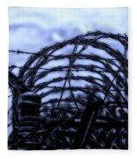 Midnight In The Prison Yard Fleece Blanket