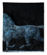 Midnight Run - Weathervane Fleece Blanket