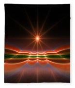 Midnight Sun Fleece Blanket