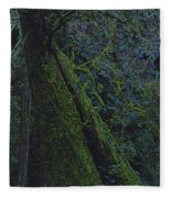Midnight Tree By Jrr Fleece Blanket