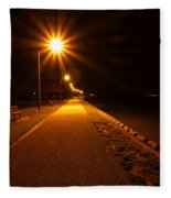 Midnight Walk Fleece Blanket
