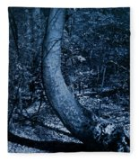 Midnight Woods Fleece Blanket