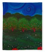 Midsummer Night By Jrr Fleece Blanket
