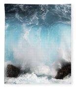 Might And Power Fleece Blanket