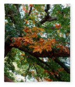 Mighty Fall Oak #1 Fleece Blanket