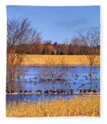 Migration.. Fleece Blanket
