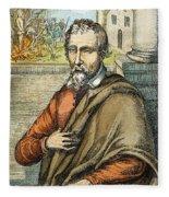 Miguel Serveto (1511-1553) Fleece Blanket