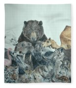 Mika Animals Fleece Blanket