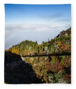 Mile High Bridge Fleece Blanket